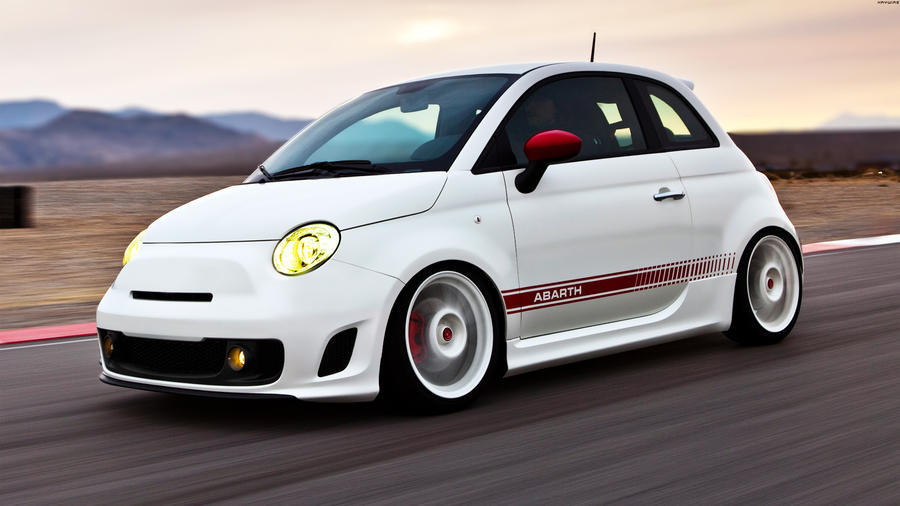 Fiat 500 Abarth 12 By Hayw1r3 On Deviantart