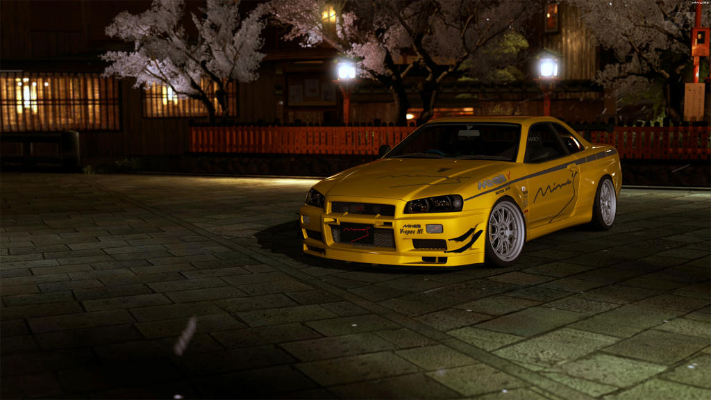 Mine's BNR34 GTR N1 '06 by HAYW1R3 on DeviantArt