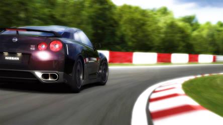 Nissan GTR Spec V '09