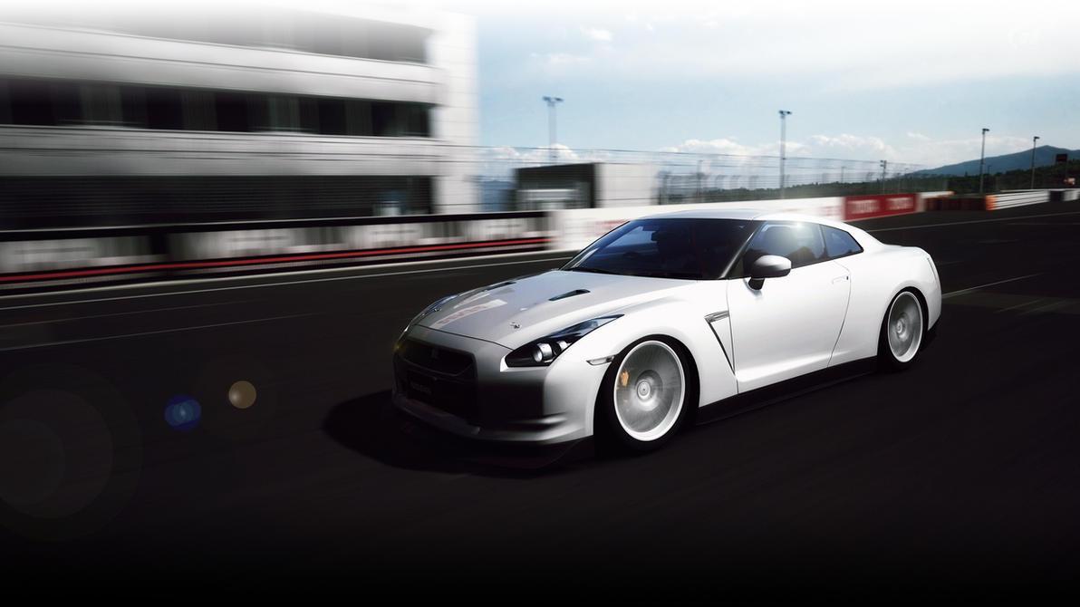 Nissan GTR by HAYW1R3