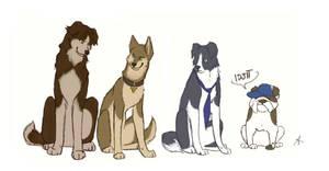 Supernatural dogs