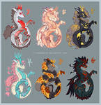 Oriental Dragon Adopts - Auction (open)