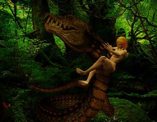 Y'shaati, Spirit of Amazonia: Beauty vs Beast I by Screwiest