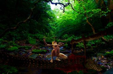 Y'shaati, Spirit of Amazonia: Beauty vs Beast II by Screwiest