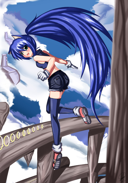 Votre personnage de sexe opposé!  Sonic_girl_by_darkmaya1