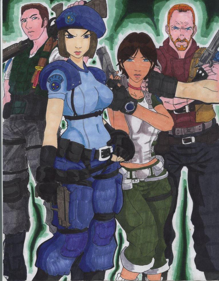 S.T.A.R.S Team Go by ZeroA