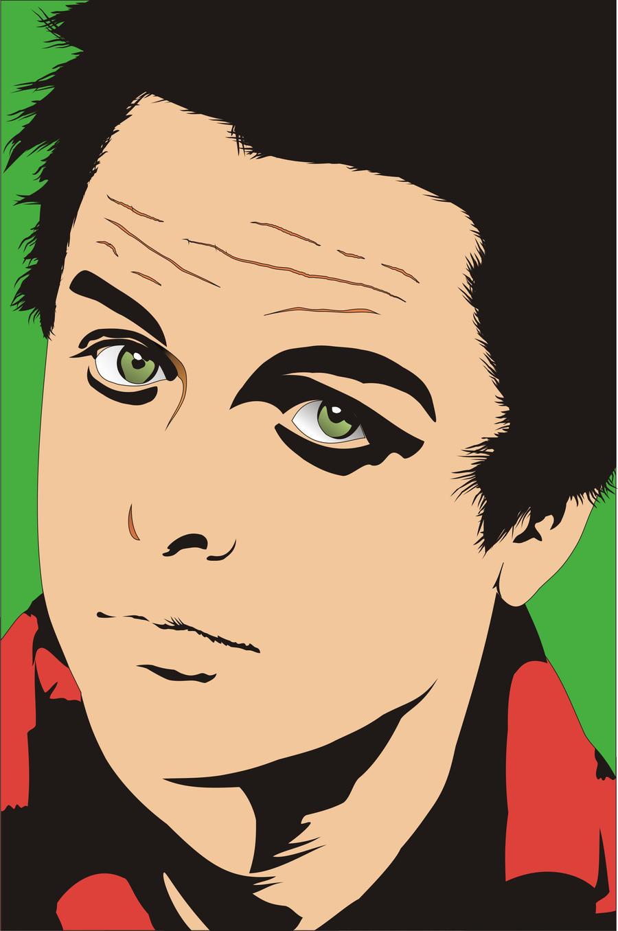 Billie Joe Armstrong by Zheptyndaroe