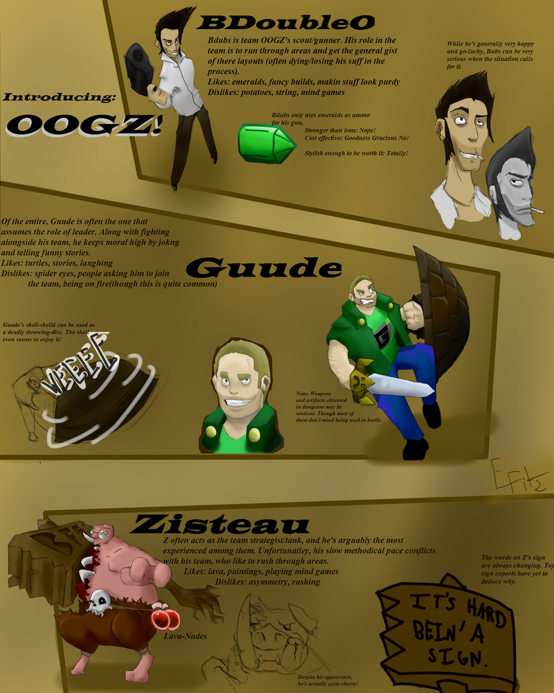 Team OOGZ Character Sheet by FitzytheShark
