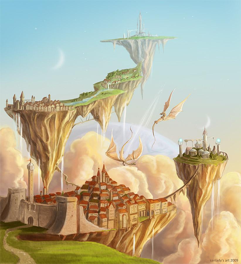 The city II by Sedeptra