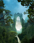 The gate of gothic by Sedeptra
