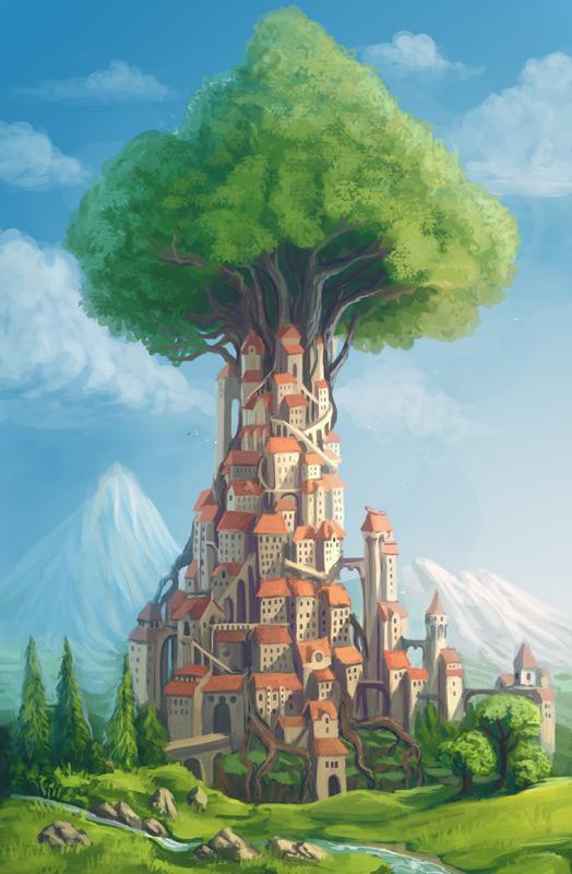 Treetown by Sedeptra