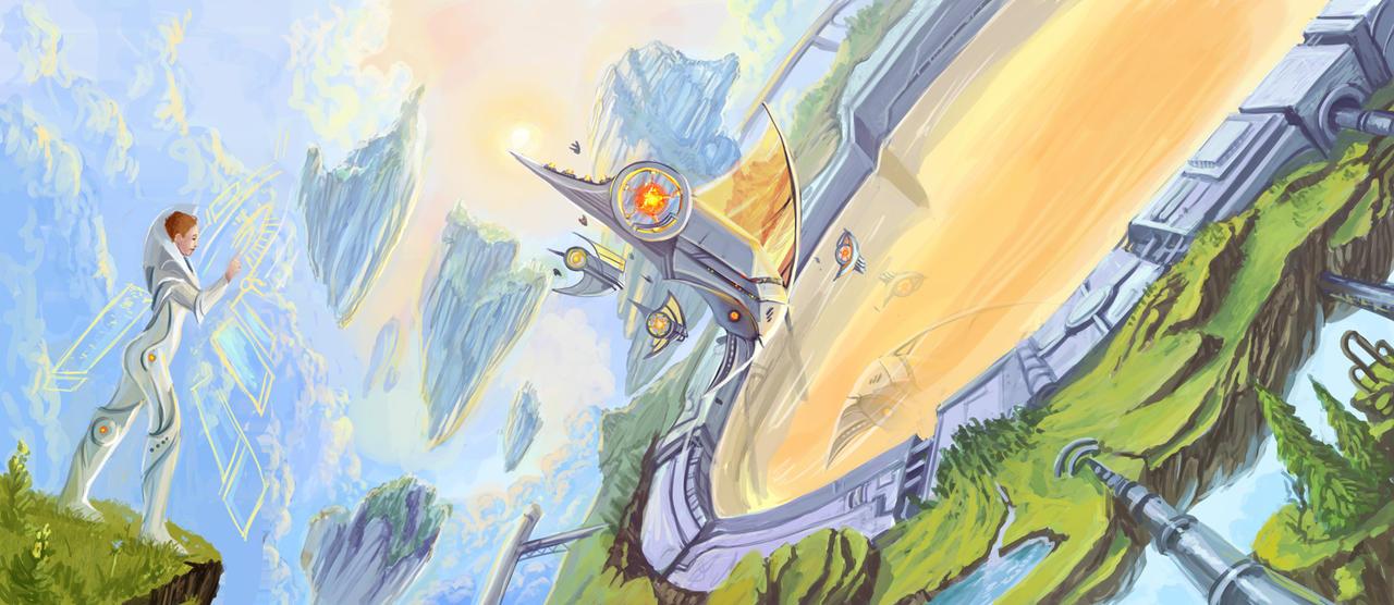 sci-fi by Sedeptra