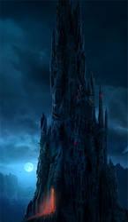 Dark tower by Sedeptra