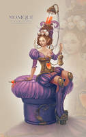 Steampunk Barocco - Monique by Sedeptra