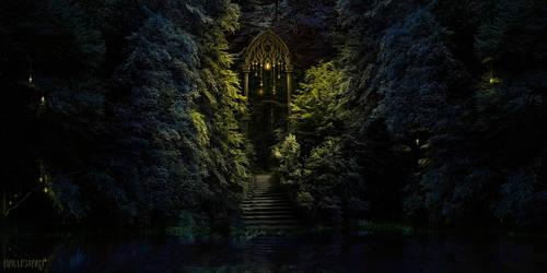 Elven Gate by Sedeptra