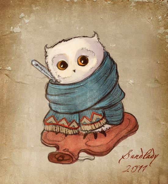 Ill Owl By Sedeptra On DeviantArt