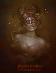 Dark lady by Sedeptra