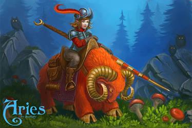 Zodiac: Aries by Sedeptra