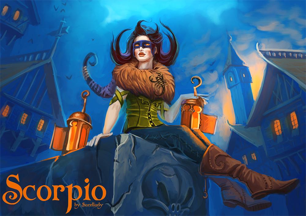 Zodiac: Scorpio by Sedeptra