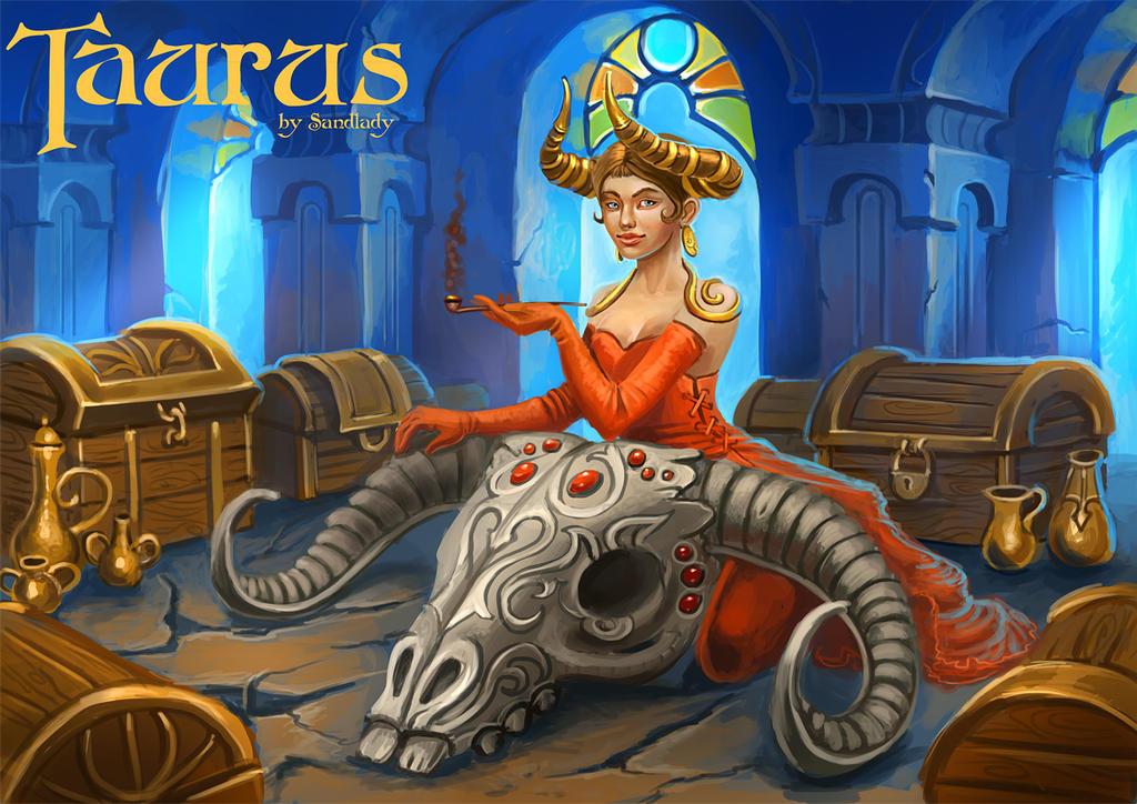 Zodiac: Taurus by Sedeptra