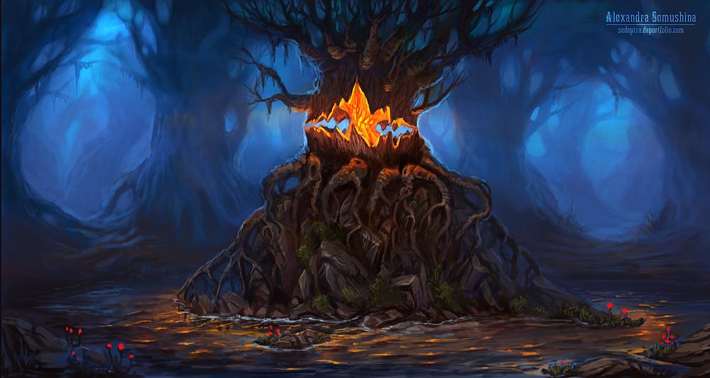 Tree of Truth by Sedeptra