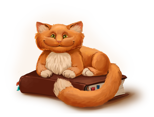 Wise red cat by Sedeptra