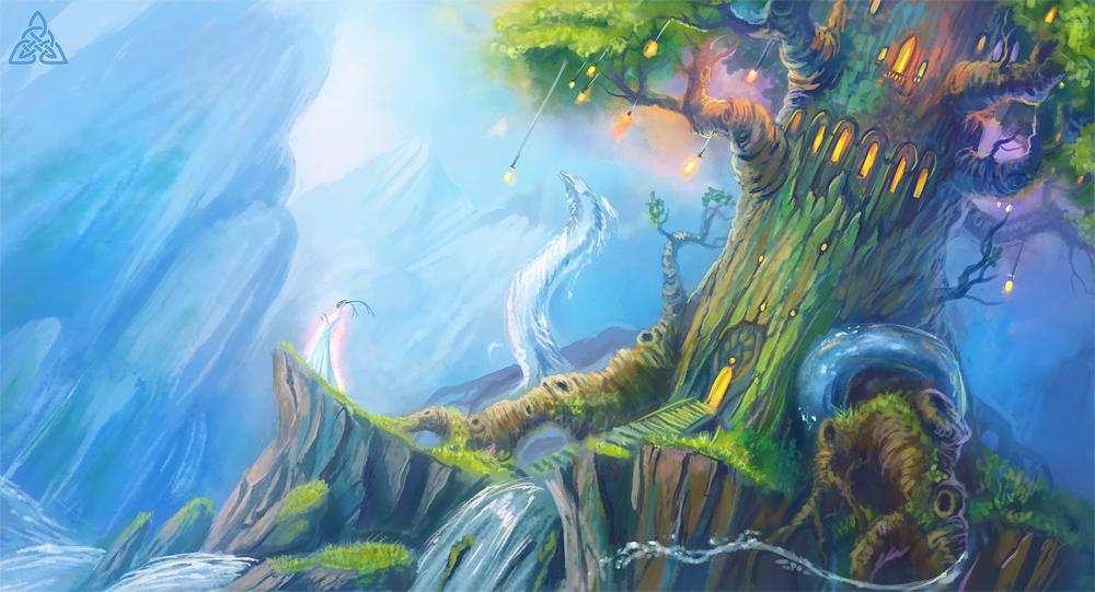 Tower of water elementalist by Sedeptra