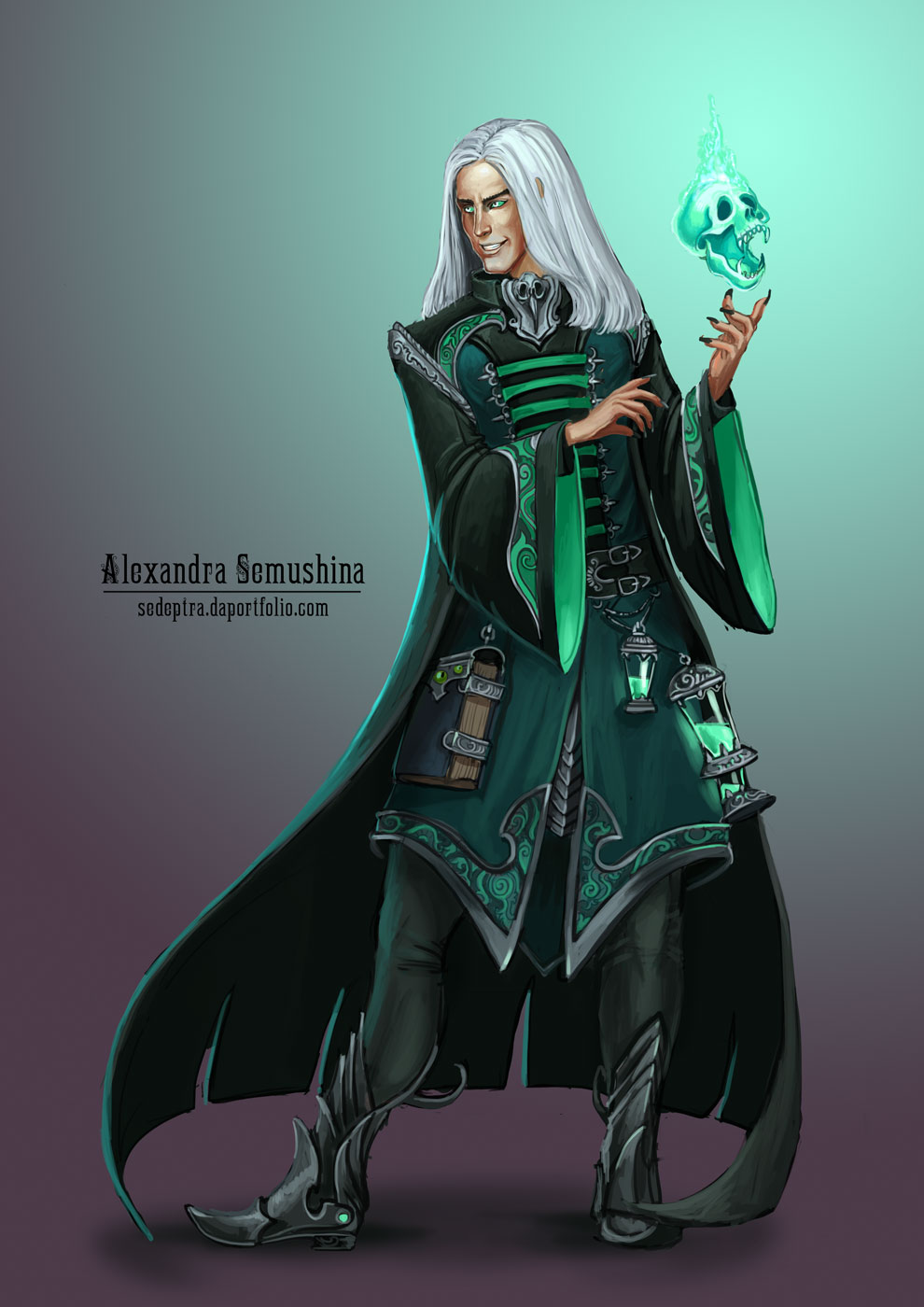 Necromancer by Sedeptra