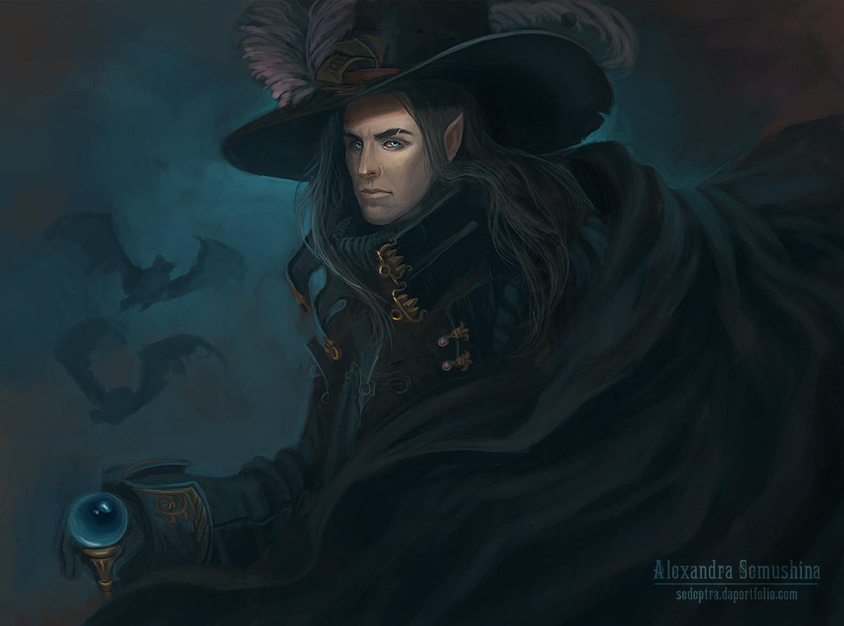 Dark stranger by Sedeptra