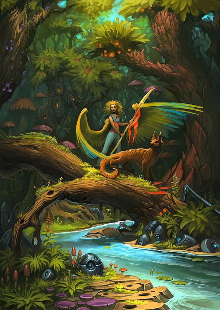 Jungle by Sedeptra