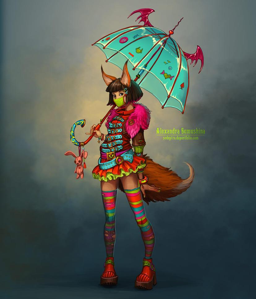 Acid fox by Sedeptra
