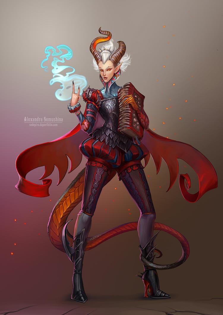 Demoness by Sedeptra