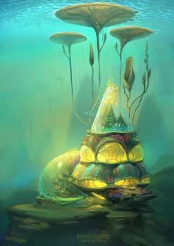 Underwater biotech house 1