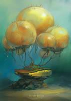 Underwater biotech house 2 by Sedeptra