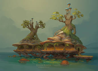 Swamp biotech cottages