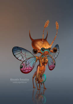 Cute insectoid 1