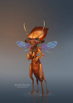 Cute insectoid 2