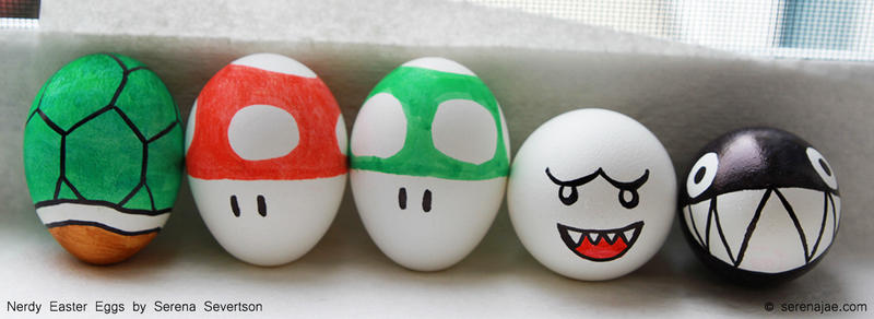 An Eggcellently Nerdy Easter by serenajae