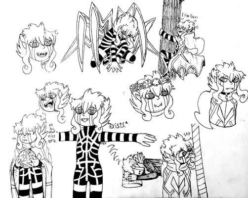 Doodles of my boy