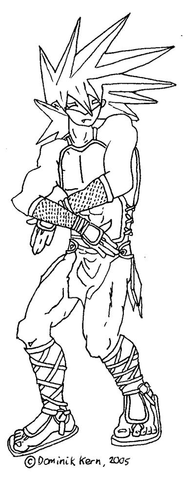 Line Art Ninja : Ninja boi line art by waraji boy on deviantart