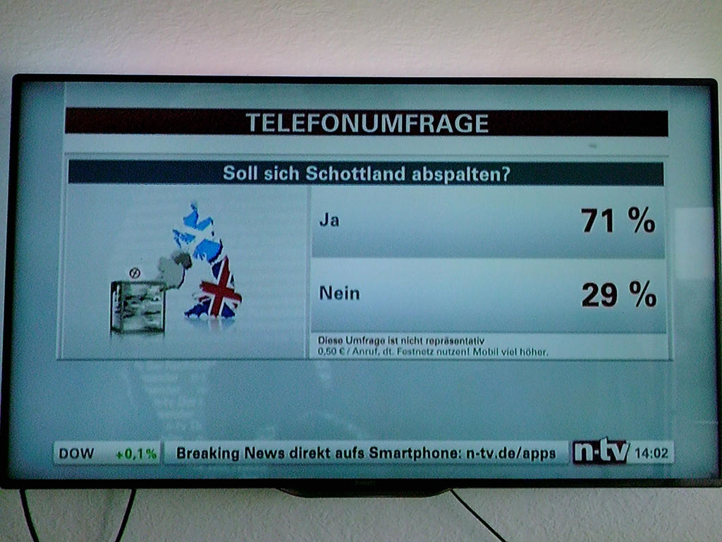 71% of the Germans say YAY! by Waraji-boy