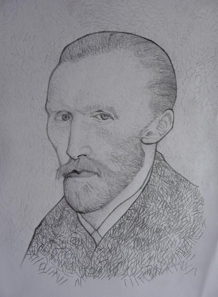 Vincent Van Gogh by Miro790