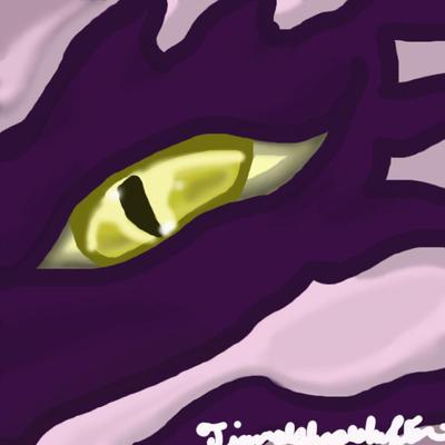 Tiamat's default eye by Tiamatshapeshifter