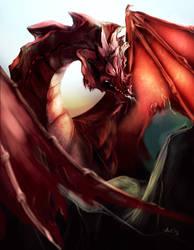 Red Dragon by AnnaKowalczewska