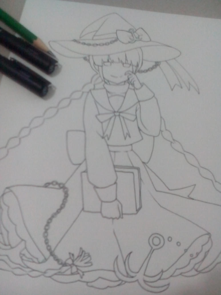 WIP: sea witch by fuanteinaa