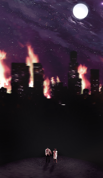the city sleeps in flames by valethestampede