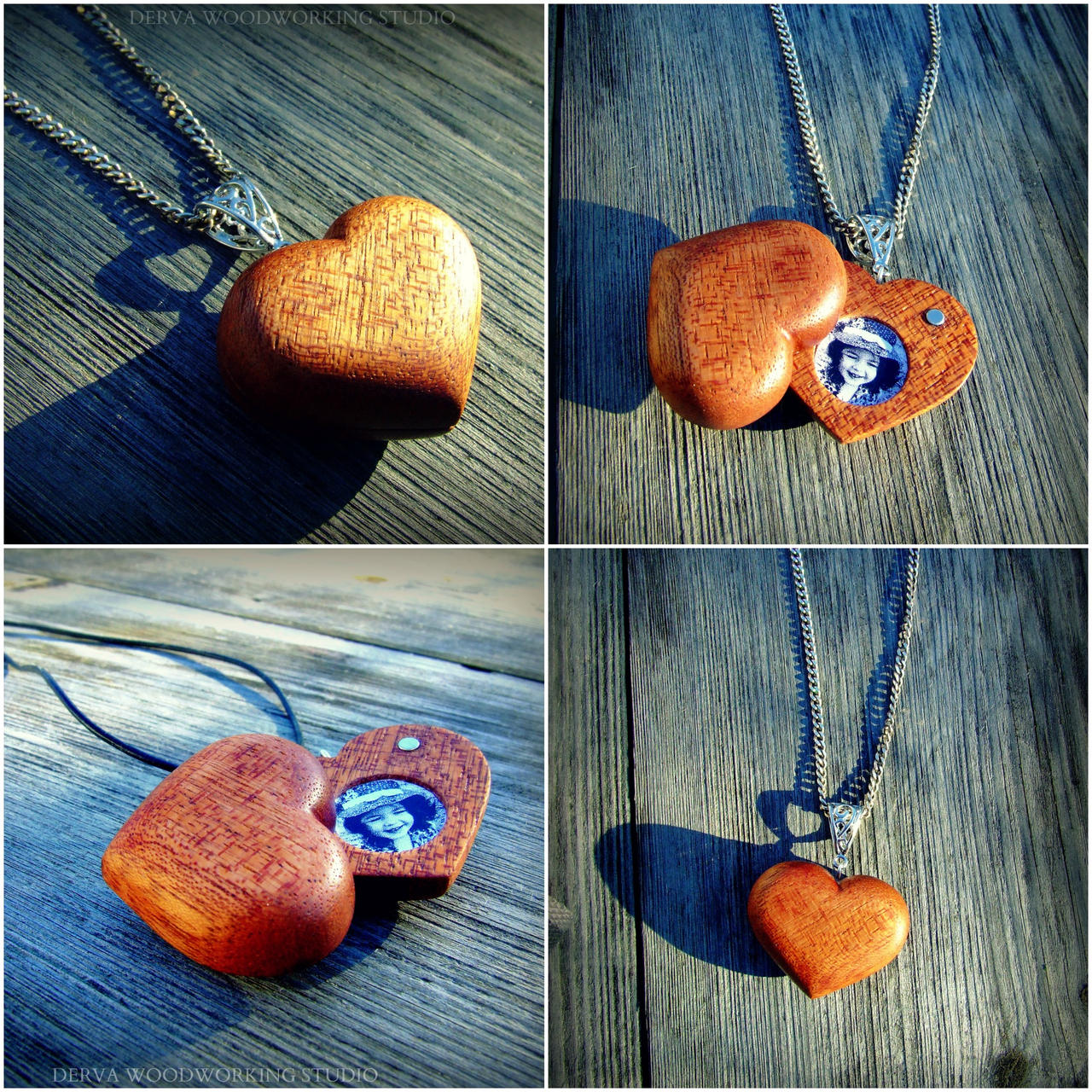 Wooden heart locket pendant by derva studio on deviantart wooden heart locket pendant by derva studio aloadofball Gallery