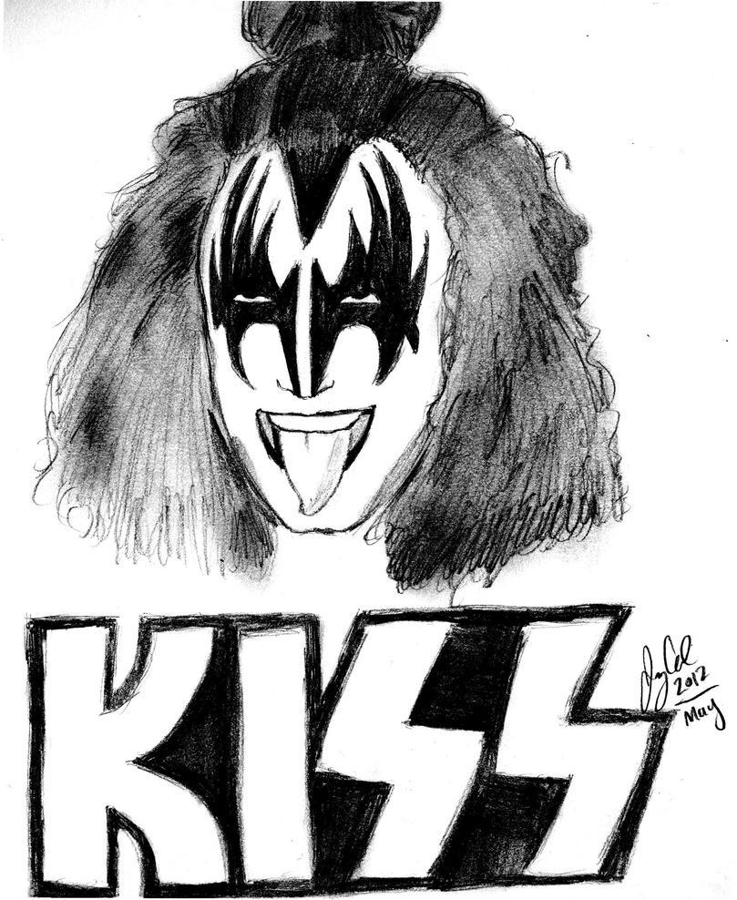 kiss gene simmons by jellyandjamxd on deviantart