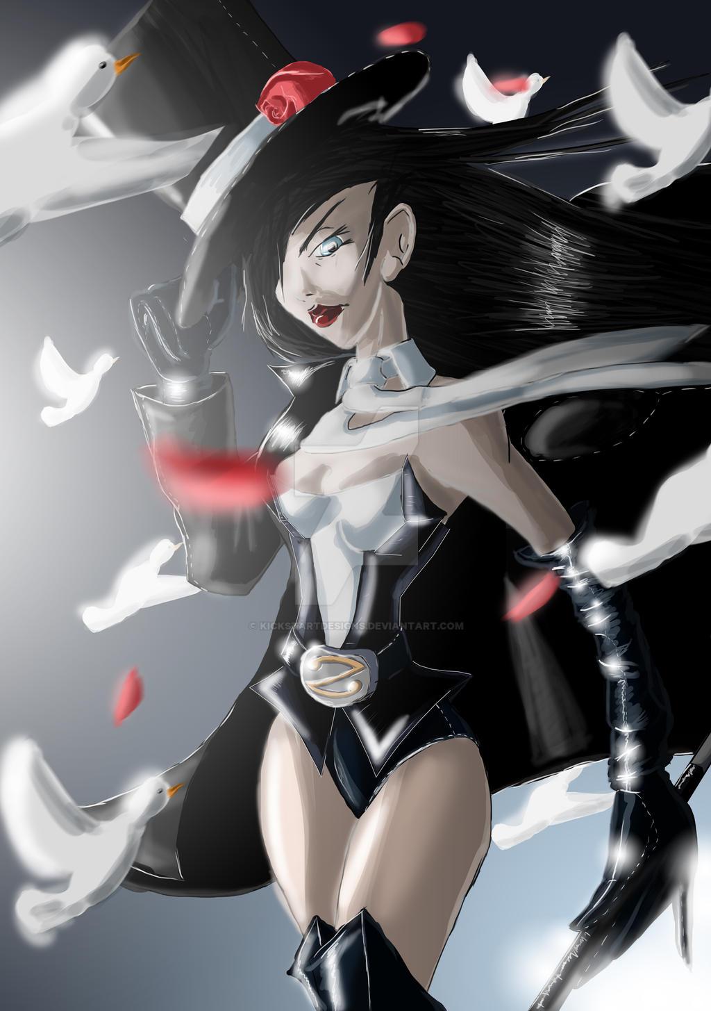 Zatanna by Dirty6Vision on DeviantArt