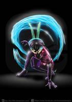 Bounty Hunter Sakura - Become the Hero by KickStartDesigns